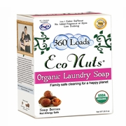 Eco Nuts Laundry Soap Nuts 20.5 oz. large box (360 loads)  Organic Laundry Soap