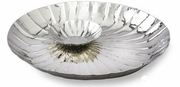 Elegance Stainless Steel Round Serve and Dip Tray
