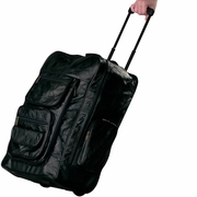 Embassy™ Backpack Rolling Cart  Italian Stone™ Design Genuine Leather  23""