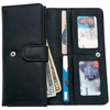 Embassy ™ Womens Solid Genuine Leather Clutch Wallet