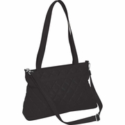 Embassy™ Quilted  Design Genuine Leather Purse