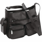 Embassy™ Solid Genuine Leather Purse  Multi Compartments