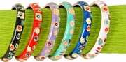 Enamel Bangles Set  6pc
