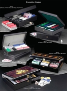 Executive Playing Cards and Chips Sets