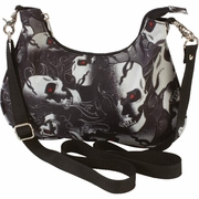 "Extreme Pak™ 12"" Ladies' Convertible Purse Skull Designs"