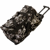 """Extreme Pak™ Red-Eye Skull Camouflage  Water-Resistant 21"""" Trolley Bag"""