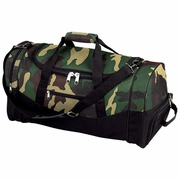 """Extreme Pak™ Water Repellent 23"""" Camouflage Duffle Bag"""
