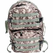ExtremePak™ Heavy-Duty Water Resistant Digital Camo Army Backpack