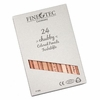 Finetec Chubby Colored Pencil 24-Color Set