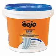 GoJo Fast Wipes® Towels 225-count Bucket  2/case