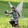 Grace Garden Sculpture   Fairy and Butterfly  FREE SHIPPING