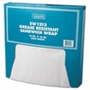 Grease-Resistant Paper Sandwich Wrap  White 12 x 12 1000sh/bx