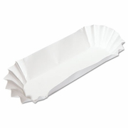 Hoffmaster® Fluted Paper Hot Dog Trays  3000/case