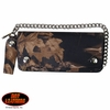 "Hunting Camouflage 8"" Bi-Fold Trucker Style Wallet with Chain"