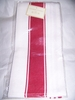 Kitchen Towels, Honeycomb Band  Cotton  RED