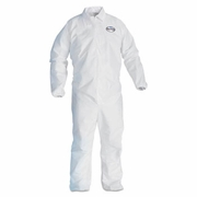 KLEENGUARD A40 Liquid and Particulate Protection Apparel, Zip Front,Elastic Wrists, Ankles  25/case
