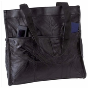 Leather Shopping Travel Bag