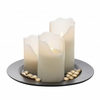 LED Pillar Candle Set with Remote