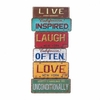 Life Inspirational Wall Hanging