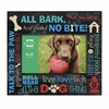 Live, Love, Lick Photo Frame Dog   6 x 4