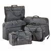 Luggage Set Jute Tweed  5pc.