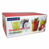 Luminarc Party Cup Glass 16oz   Set of 6