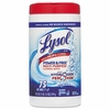 LYSOL� Brand Power & Free� Multi-Purpose Cleaning Wipes with Hydrogen Peroxide  75wipes/Can. 6/case
