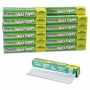 Marcal Kitchen Charm® White Wax Paper Roll  75ft.