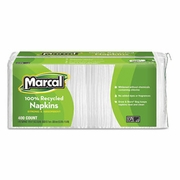 Marcal® Small Steps® 100% Premium Recycled White Luncheon Napkins 2400/case