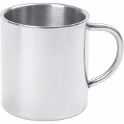 Maxam® 15oz Double Wall Stainless Steel Coffee Cup