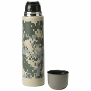 Maxam® 25oz (.74L) Double Wall Bottle with Digital Camouflage Pattern