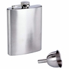 Maxam® 8oz Stainless Steel Hip Flask with Funnel
