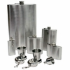 Maxam® 8pc Stainless Steel  Flask Gift Set