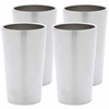 Maxam� Double Wall 13oz Stainless Steel Tumbler Set  4pc