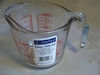 Measuring Cup Oven Proof Glass 16oz