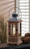 """Mount Vernon Wooden Candle Lantern  Small  18""""h"""