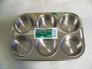 Muffin Pan Professional Heavy-Gauge Stainless Steel