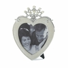 Heart and Crown  Photo Frame   5x5