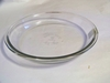 Pie Plate   Glass  By Anchor Hocking