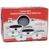 Precise Heat™ 6pc High-Quality, Heavy-Gauge Stainless Steel Non-Stick Skillet Set
