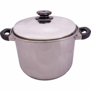 Steam Control™ 12qt 12-Element T304 Stainless Steel Stockpot