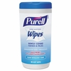 Purell Hand Sanitizing Wipes, 5.7 x 7 1/2, Clean Refreshing Scent, 40 wipes/Canister 6per Case