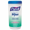 Purell Hand Sanitizing Wipes, 5.7 x 7 1/2, Fragrance Free, 40 wipes/ 6 Canister per Case