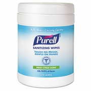 PURELL Sanitizing Wipes 270ct Tub 6/cs