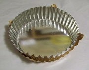 """Quiche Pan 8"""" dia  x 2"""" deep. Tapered Sides"""