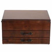 Reed & Barton Provincial   Two Drawers Flatware Chest  FREE SHIPPING