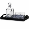 Reed & Barton Soho Crystal Bar Set  FREE SHIPPING
