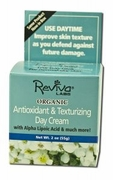 Reviva Labs Moisturizers Organic Day Cream with Alpha Lipoic Acid 2 oz