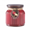 Ribbed Jar Candle  Apple Spice
