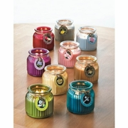 Ribbed Jar Scented Candles
